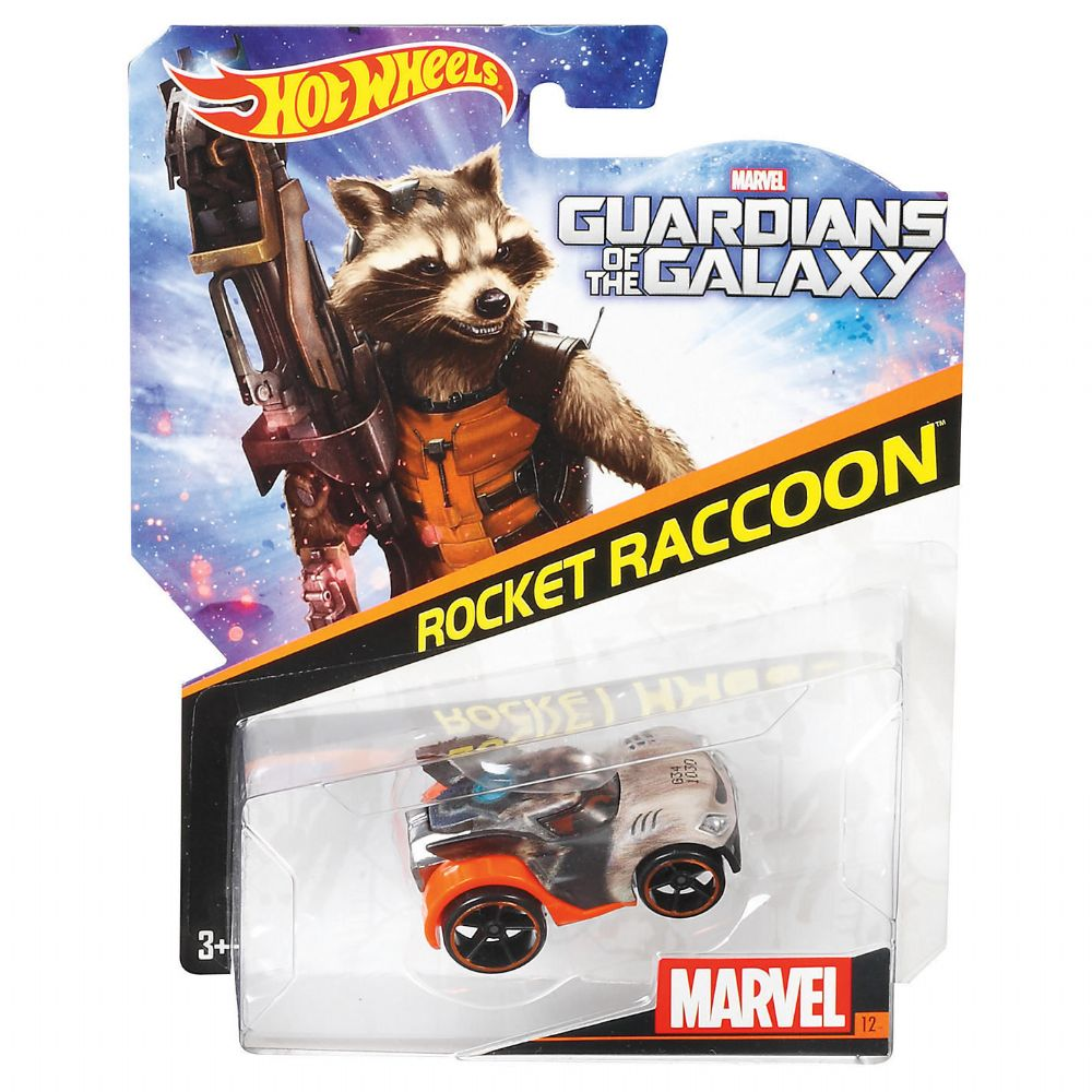 Hot Wheels Marvel Character Cars Guardians Of The Galaxy